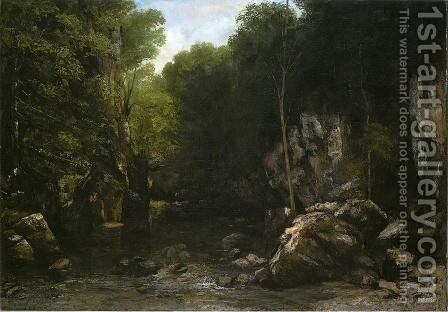 Solitude by Gustave Courbet - Reproduction Oil Painting