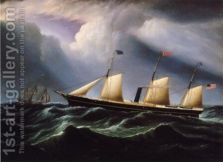 Star of the South by James E. Buttersworth - Reproduction Oil Painting
