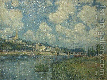 Saint Cloud by Alfred Sisley - Reproduction Oil Painting