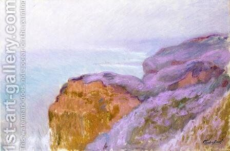 At Val Saint-Nicolas, near Dieppe by Claude Oscar Monet - Reproduction Oil Painting