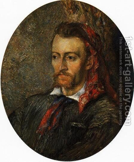 Portrait of Eugene Murer by Camille Pissarro - Reproduction Oil Painting