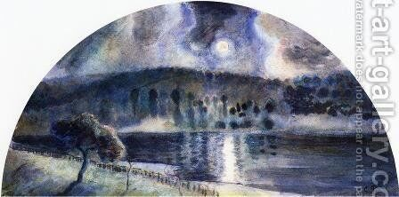 Landscape IV by Camille Pissarro - Reproduction Oil Painting
