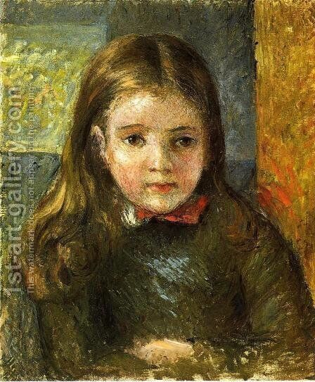 Portrait of Georges by Camille Pissarro - Reproduction Oil Painting
