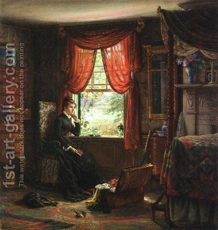 Memories by Edward Lamson Henry - Reproduction Oil Painting