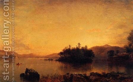 Late Afternoon on the Susquehanna by Daniel Huntington - Reproduction Oil Painting