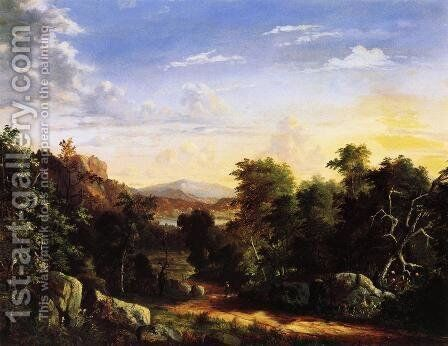Croton, New York by Abigail Tyler Oakes - Reproduction Oil Painting
