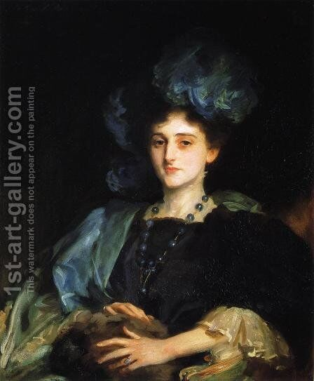 Katherine Lewis by Sargent - Reproduction Oil Painting