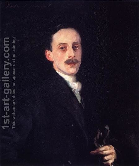 Hugh Lane by Sargent - Reproduction Oil Painting