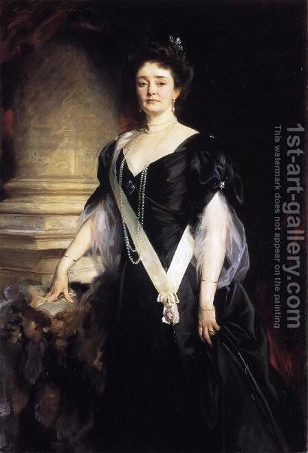 H.R.H. the Duchess of Connaught and Strathearn (Princess Louisa Margaret Alexandra Victoria Agnes of Prussia) by Sargent - Reproduction Oil Painting