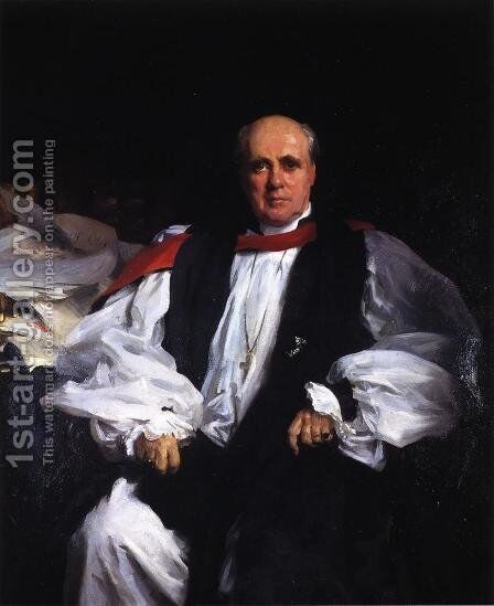 The Archbishop of Canterbury (Randall Thomas Davidson) by Sargent - Reproduction Oil Painting
