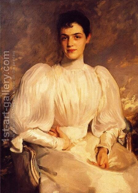 Elsie Wagg by Sargent - Reproduction Oil Painting