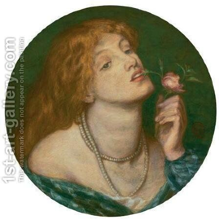 Belcolore by Dante Gabriel Rossetti - Reproduction Oil Painting