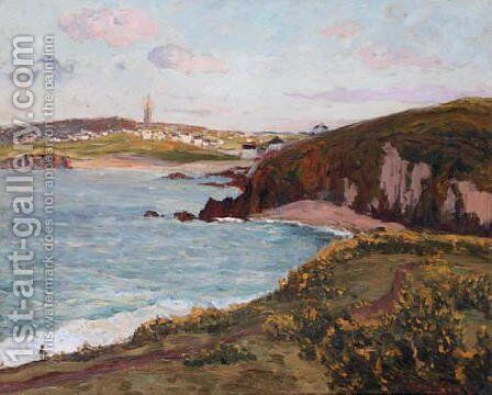 Environs de Douarnenez by Maxime Maufra - Reproduction Oil Painting