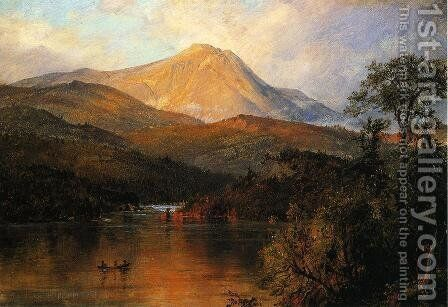 Mount Katahdin I by Frederic Edwin Church - Reproduction Oil Painting