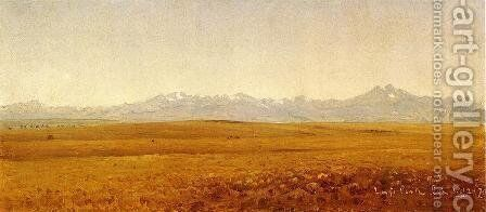 Long's Peak, Colorado by Sanford Robinson Gifford - Reproduction Oil Painting