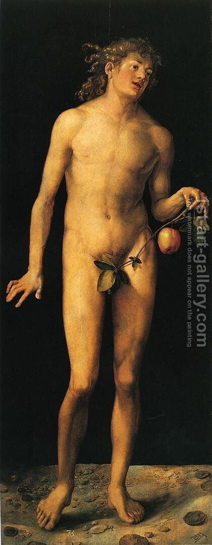 Adam I by Albrecht Durer - Reproduction Oil Painting