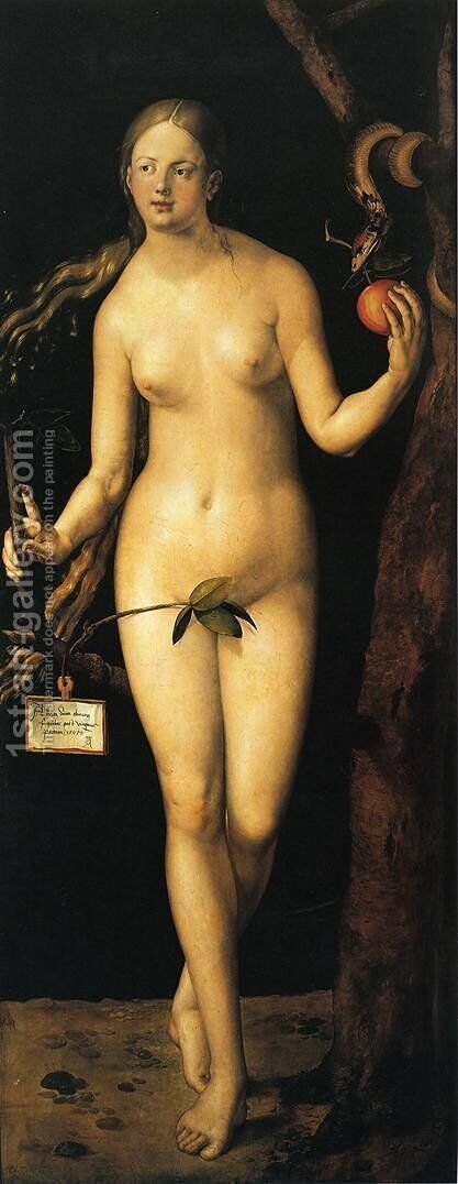 Eve I by Albrecht Durer - Reproduction Oil Painting