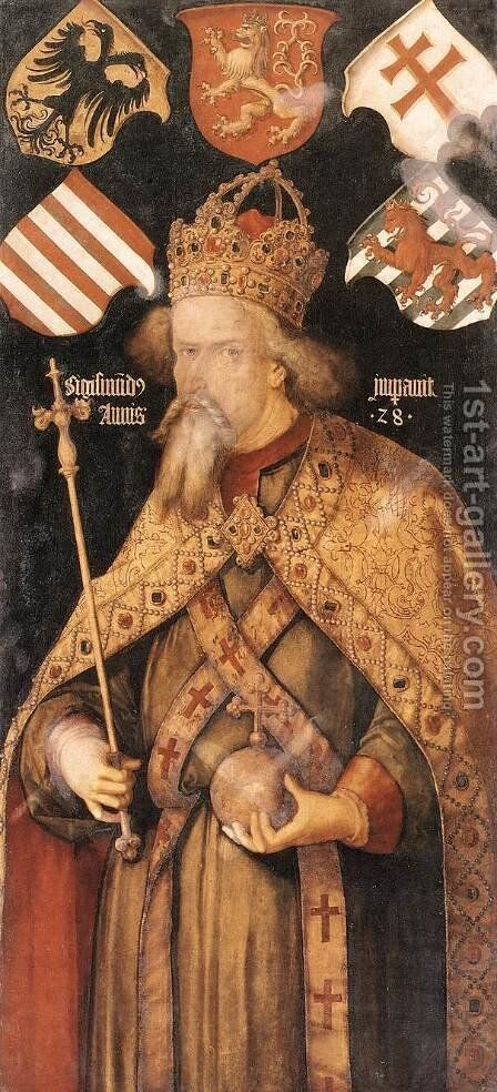 Emperor Sigismund by Albrecht Durer - Reproduction Oil Painting