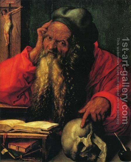 St. Jerome by Albrecht Durer - Reproduction Oil Painting