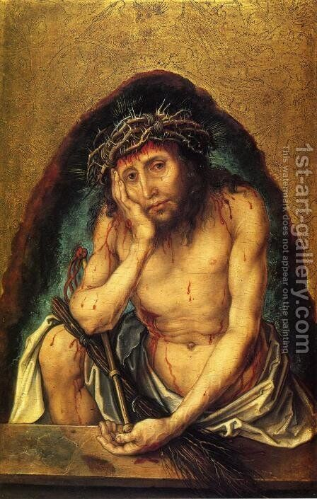 Christ as the Man of Sorrows I by Albrecht Durer - Reproduction Oil Painting