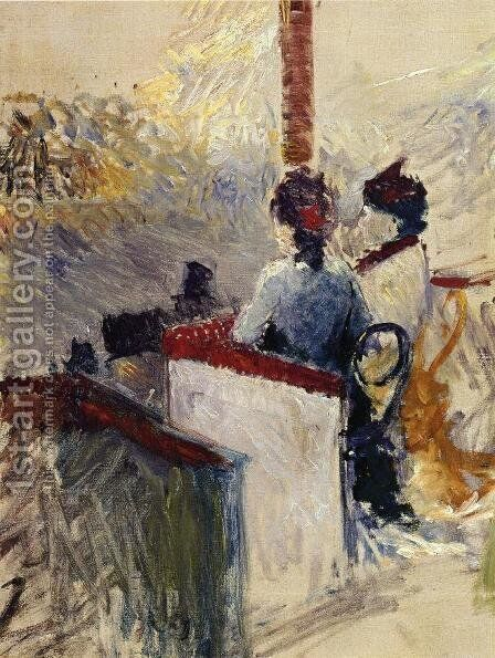 The Box by Toulouse-Lautrec - Reproduction Oil Painting