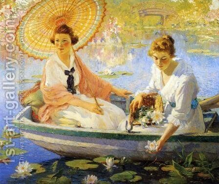 Summer by Colin Campbell Cooper - Reproduction Oil Painting