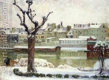 Winter in Lagny by Henri Lebasque - Reproduction Oil Painting