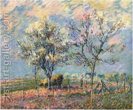 Spring by Gustave Loiseau - Reproduction Oil Painting