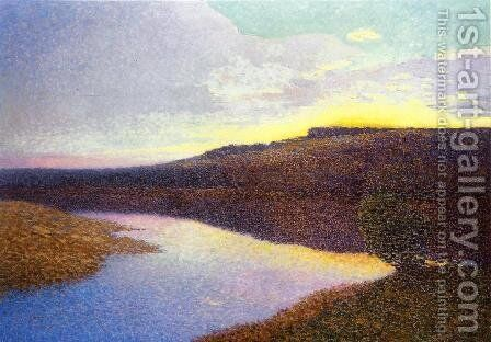 Lot Landscape by Henri Martin - Reproduction Oil Painting