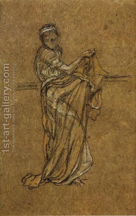 The Dancing Girl by James Abbott McNeill Whistler - Reproduction Oil Painting