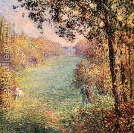 Autumn by Henri Lebasque - Reproduction Oil Painting