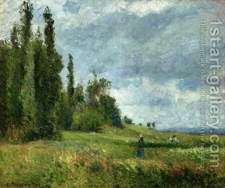 The Petit Bras of the Seine at Argenteuil by Camille Pissarro - Reproduction Oil Painting