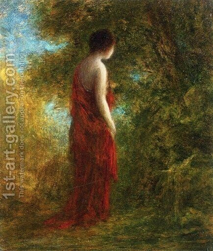Autumn by Ignace Henri Jean Fantin-Latour - Reproduction Oil Painting