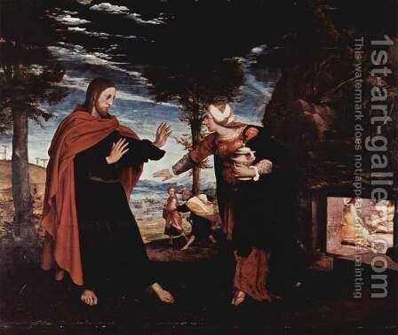 Noli Me Tangere by Hans, the Younger Holbein - Reproduction Oil Painting