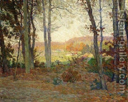 Landscape with House in the Woods in Saint Thomas, Antilles by Henri Lebasque - Reproduction Oil Painting