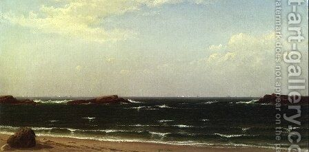 White Caps by Alfred Thompson Bricher - Reproduction Oil Painting