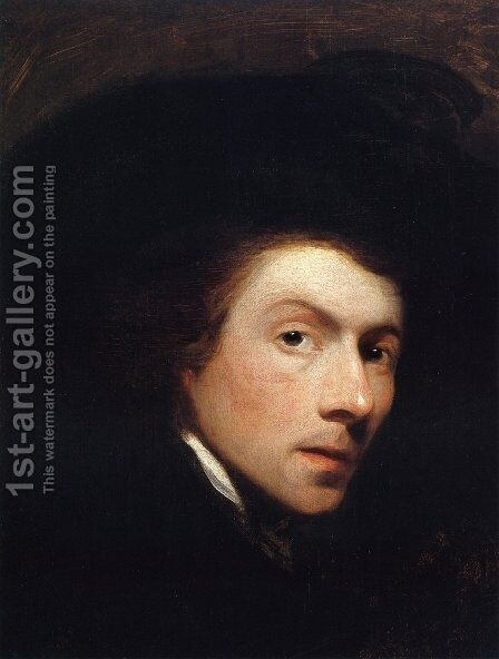 Self Portrait by Gilbert Stuart - Reproduction Oil Painting