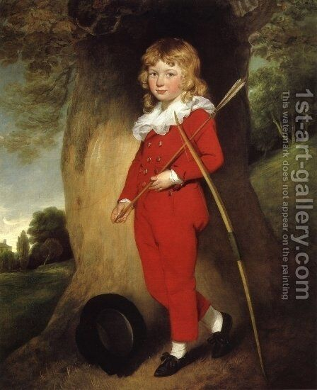 Master Clark by Gilbert Stuart - Reproduction Oil Painting