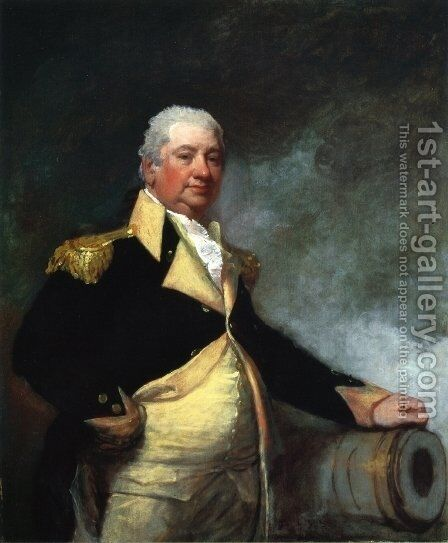 Henry Knox by Gilbert Stuart - Reproduction Oil Painting