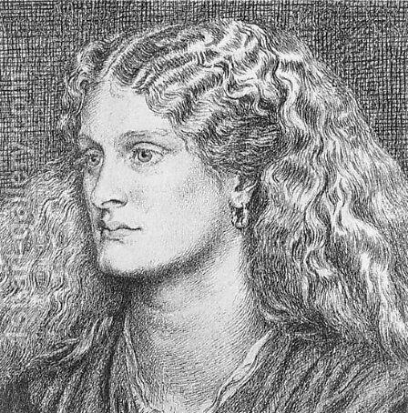 Annie Miller III by Dante Gabriel Rossetti - Reproduction Oil Painting