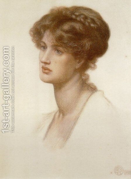 Marie Stillman by Dante Gabriel Rossetti - Reproduction Oil Painting