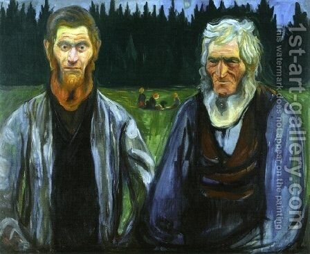 Generations by Edvard Munch - Reproduction Oil Painting
