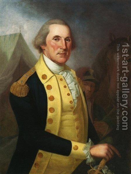 Goerge Washington by James Peale - Reproduction Oil Painting