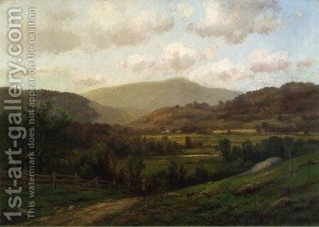 New England Landscape by Daniel Folger Bigelow - Reproduction Oil Painting