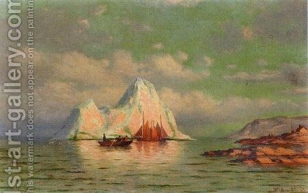 Fishing Boats on the Coast of Labrador by William Bradford - Reproduction Oil Painting