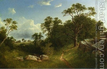 Landscape I by David Johnson - Reproduction Oil Painting