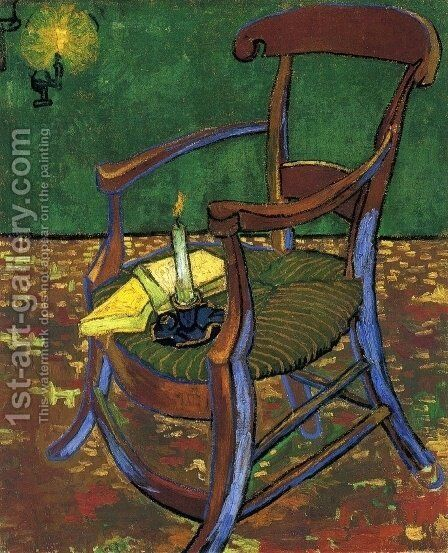 Gauguin's Chair by Vincent Van Gogh - Reproduction Oil Painting