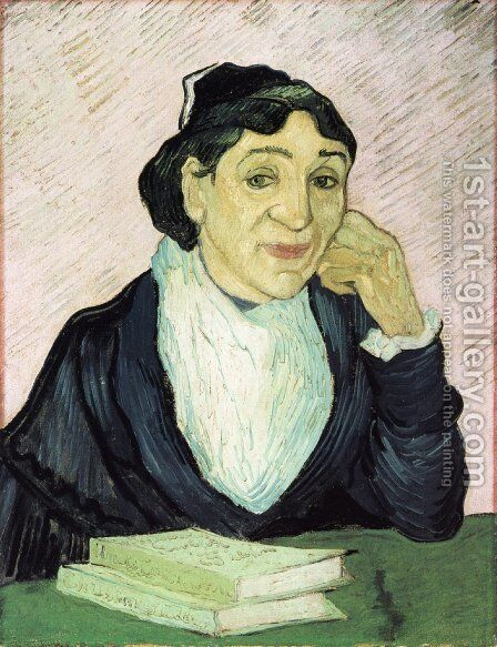 L'Arlesienne, Portrait of Madame Ginoux III by Vincent Van Gogh - Reproduction Oil Painting