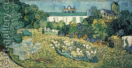 Daubigny's Garden I by Vincent Van Gogh - Reproduction Oil Painting