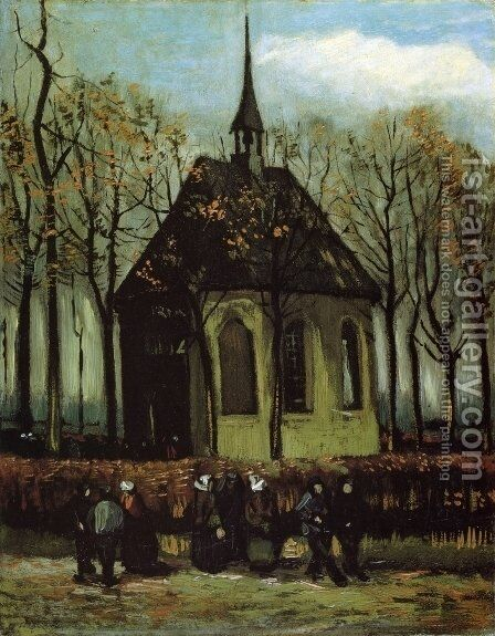 Chapel at Nuenen by Vincent Van Gogh - Reproduction Oil Painting